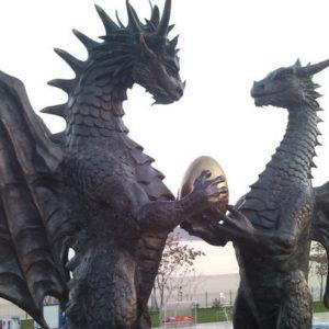 Page de présentation des stages, extrait du stage sur les dragons
