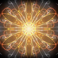 Mandala de connexion avec les énergies des pléiades